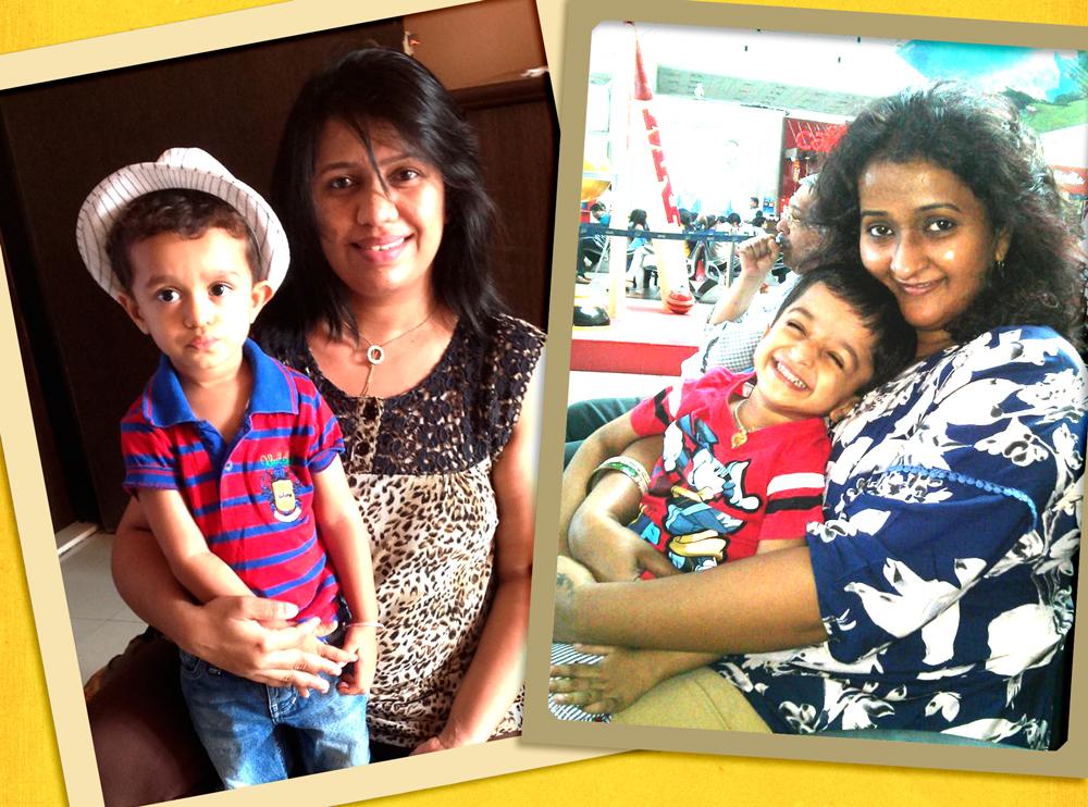 Madhavi and prachi