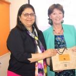 Ms. Jo Gaglani, WeAreTheCity India, thanking Ms.Katie Day