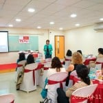 Ms. Katie Day helping women professionals to be aware of their personality type and solutions for the communication challenges at work