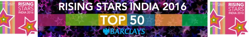 Rising Stars India 2016-top-50-banner