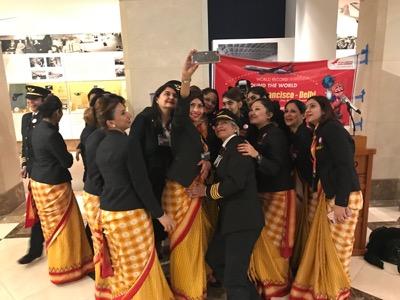 air india all female crew featured