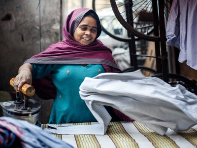 indian woman working featured